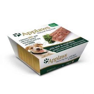 Applaws Paté Dog - pástétom marhahússal és zöldséggel, 150g