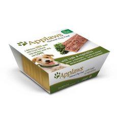 Applaws Paté Dog - pástétom bárányhússal és zöldséggel, 150g