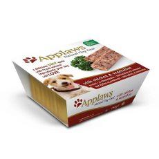 Applaws Paté Dog - pástétom csirkehússal és zöldséggel, 150g