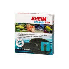EHEIM aktív szenes szűrőanyag Classic 250 (2213) szűrőbe - 3 db