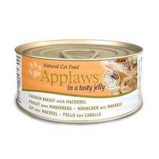 Applaws Cat Jelly - konzerv macskáknak csirkével és makrélával, 70g