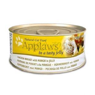 Applaws Cat Jelly - konzerv macskáknak csirkével és mangóval, 70g