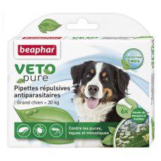 Cseppek rovarok ellen nagytestű kutyáknak, természetes - 6 db
