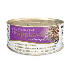 Applaws Cat Jelly - konzerv macskáknak makrélával és keszeggel, 70g