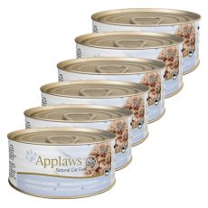 Applaws Cat - konzerv macskáknak tonhallal és sajttal, 6 x 70g