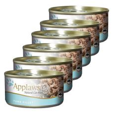 Applaws Cat - konzerv macskáknak tonhallal, 6 x 70g
