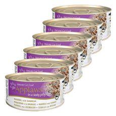 Applaws Cat Jelly - konzerv macskáknak makrélával és keszeggel, 6 x 70g