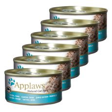 Applaws Kitten - konzerv cicáknak tonhallal, 6 x 70g