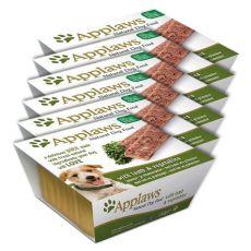 Applaws Paté Dog - pástétom bárányhússal és zöldséggel, 6 x 150g