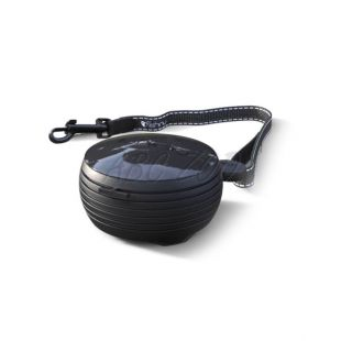 Lishinu Light Lock handsfree póráz 8kg-ig, 3m - fekete