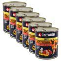 ONTARIO kutyakonzerv, marha, burgonya és olaj - 6x800g