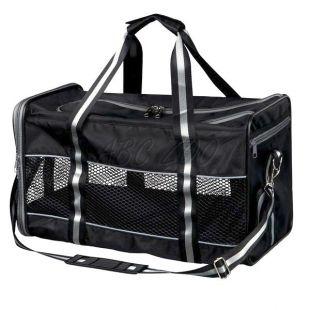 Kutya vagy macska hordozására táska, Mick - fekete, 41x26x27 cm