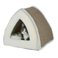 Fekhely macskának Jessa, bézs - 40 x 40 x 38 cm
