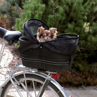 Kerékpárra szerelhető táska, 48 x 29 x 42 cm, terhelhetősége 8kg-ig