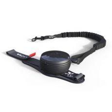 Lishinu Bungee handsfree póráz 30 kg-ig, 3m - fekete