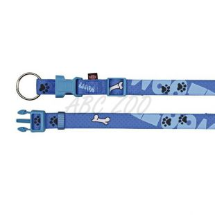 Nyakörv kutyáknak, lila színű mintával - XS/S, 22-35cm