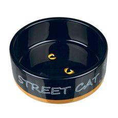Kerámia macskatál Street Cat - 0,3 l
