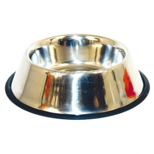 Kutyatál - nemesacélból, csúszásmentes - 0,3l/11cm