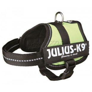 Hevederhám Julius K9 - zöld, XS-S/33-45cm