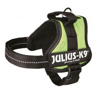 Hevederhám Julius K9 - zöld, S/40-53cm