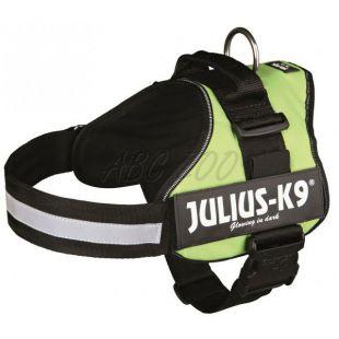 Hevederhám Julius K9 - zöld, M-L/66-85cm