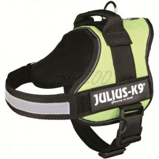 Hevederhám Julius K9 - zöld, XL/82-118cm