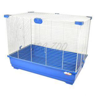 Ketrec hörcsögöknek és egereknek RENE 62, kék és bézs - 62 x 37 x 42 cm