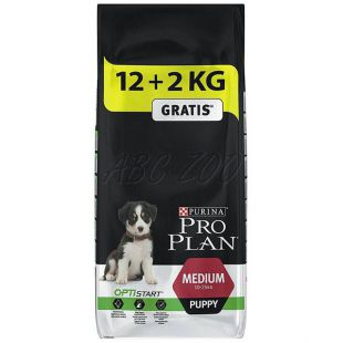 Purina PRO PLAN PUPPY Medium - 12+2kg