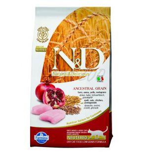 Farmina N&D cat LG Neutered Chicken & Pomegranate 1,5 kg
