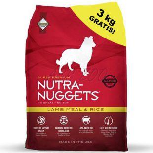 NUTRA NUGGETS Lamb & Rice 15 kg + 3kg GRÁTISZ
