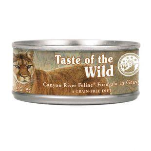 TASTE OF THE WILD Canyon River Feline - konzerv , 155g