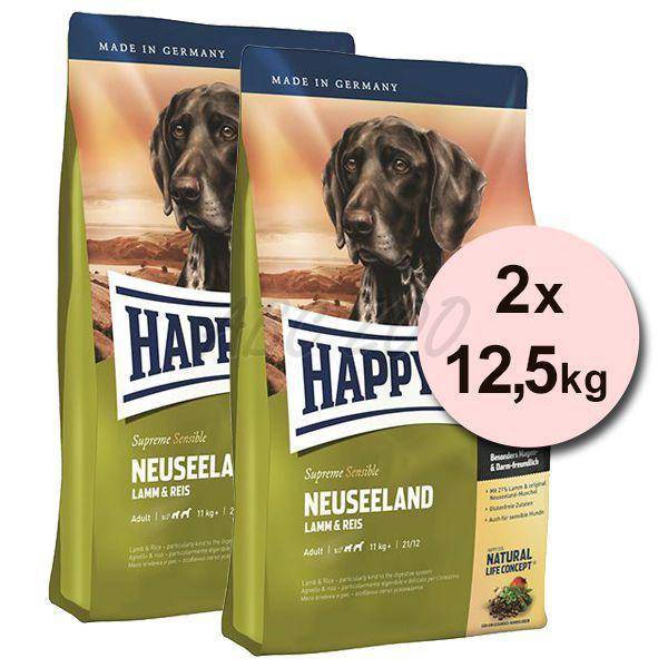 happy dog supreme neuseeland 2 x 12 5kg abc zoo. Black Bedroom Furniture Sets. Home Design Ideas