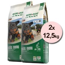 BEWI DOG BASIC MENU 2 x 12,5kg