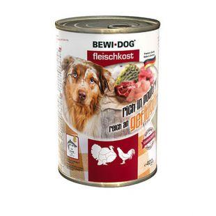 New BEWI DOG konzerv – Baromfi, 400g