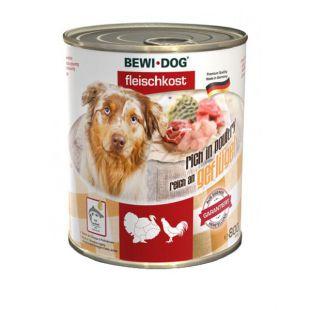 New BEWI DOG konzerv – Baromfi, 800g