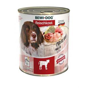 New BEWI DOG konzerv – Borjúhúsos, 800g