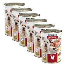 New BEWI DOG konzerv – Baromfi - 6 x 400g