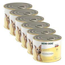 Bewi dog Pástétom - Csirke - 6 x 200g, 5+1 GRATIS