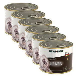 Bewi dog Pástétom - Májas - 6 x 200g, 5+1 GRATIS