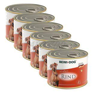 Bewi dog Pástétom – Marhahúsos - 6 x 200g, 5+1 GRATIS