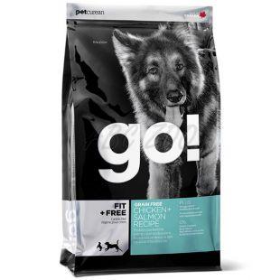 Petcurean GO! Fit + Free, Grain free - 2,72kg