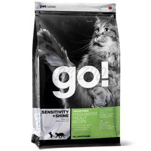 Petcurean GO! CAT Sensitive Shine Grain Free - 1,81kg