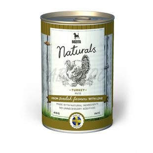 Bozita Naturals Turkey - konzerv, 410g