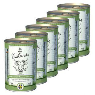 Bozita Naturals Beef - konzerv, 6 x 410g