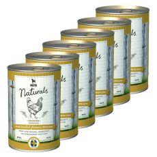 Bozita Naturals Chicken - konzerv, 6 x 410g