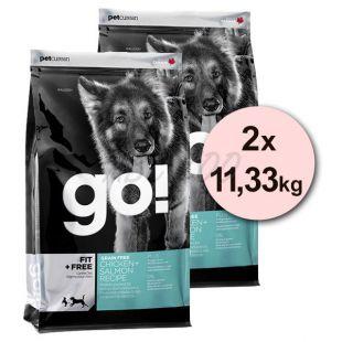 Petcurean GO! Fit + Free, Grain free - 2 x 11,33kg