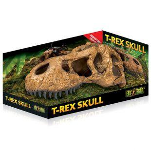 Exo Terra T-Rex koponya - terráriumi dísz - 22 x 9 cm