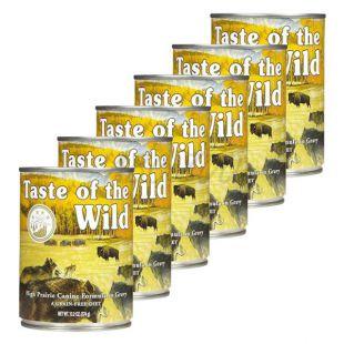 TASTE OF THE WILD High Prairie Canine - konzerv, 6 x 374g