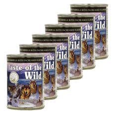 TASTE OF THE WILD Wetlands Canine - konzerv, 6 x 374g