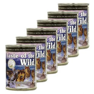 TASTE OF THE WILD Wetlands Canine - konzerv, 6 x 374g